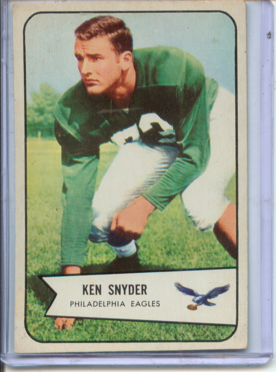 1954 Bowman #69 Kenneth Snyder SP