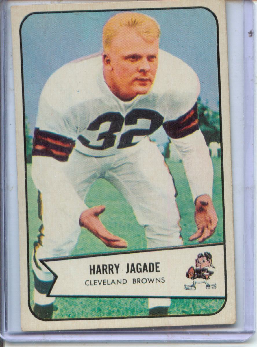 1954 Bowman #99 Chick Jagade