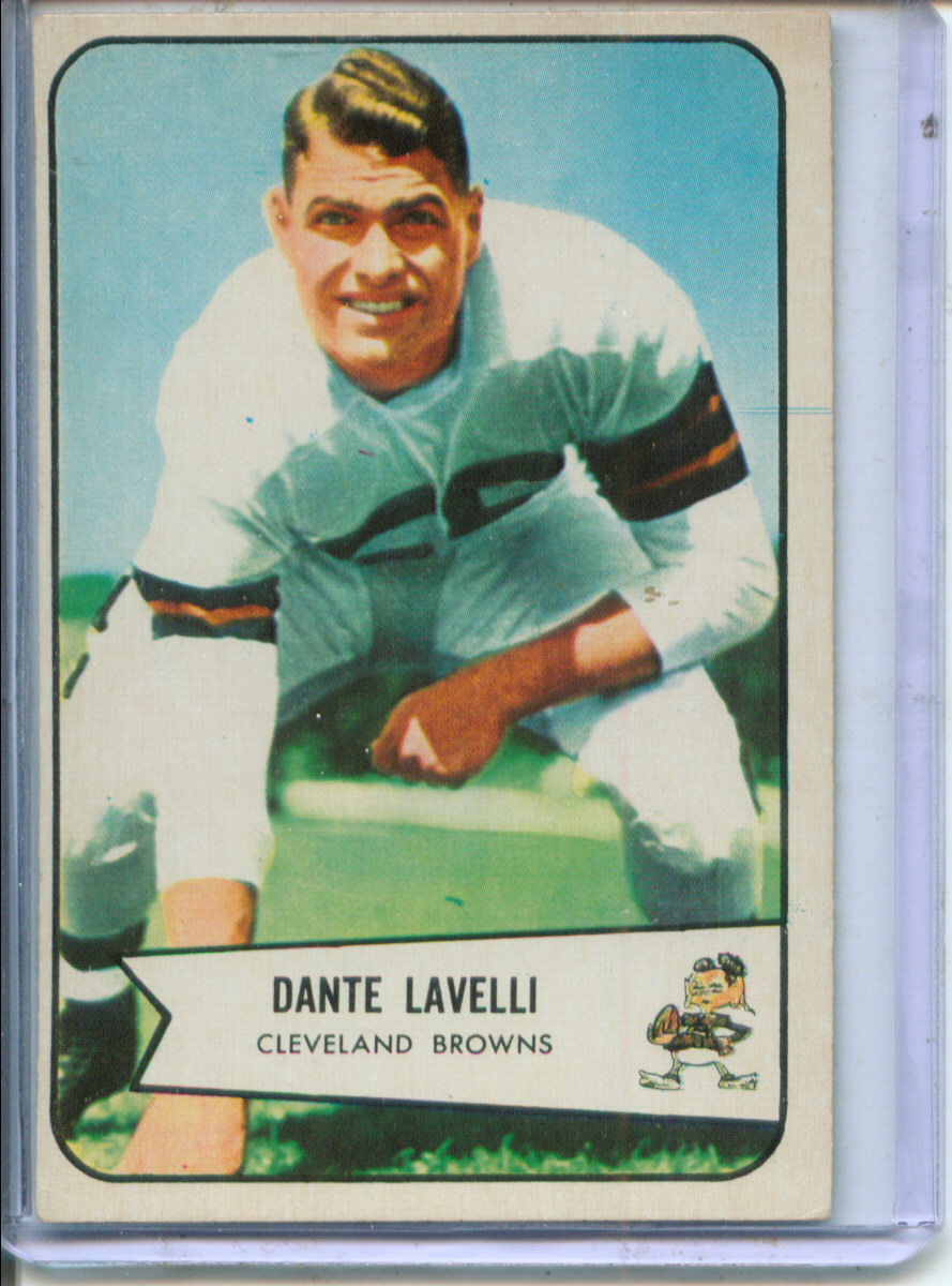 1954 Bowman #111 Dante Lavelli