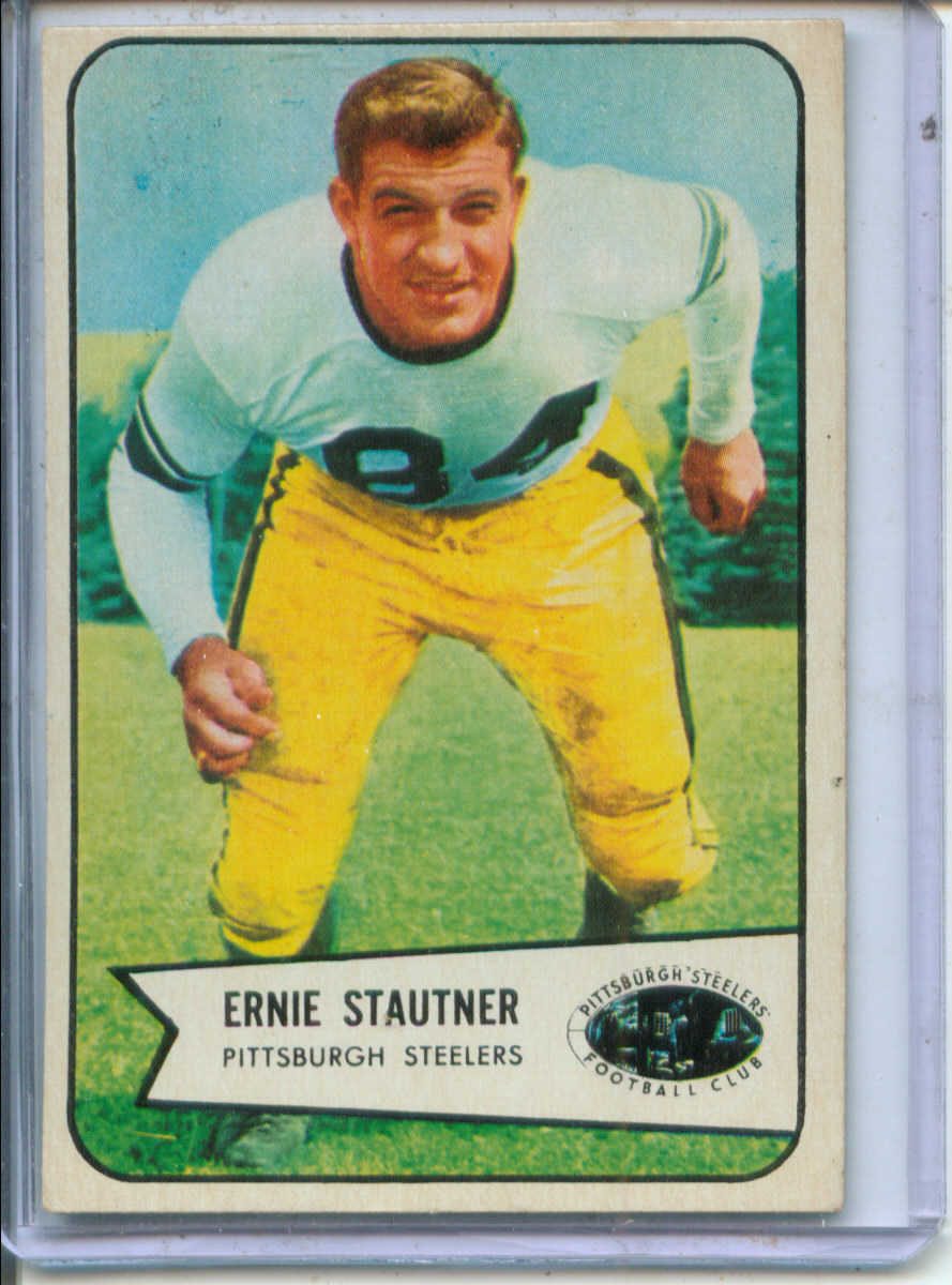 1954 Bowman #118 Ernie Stautner