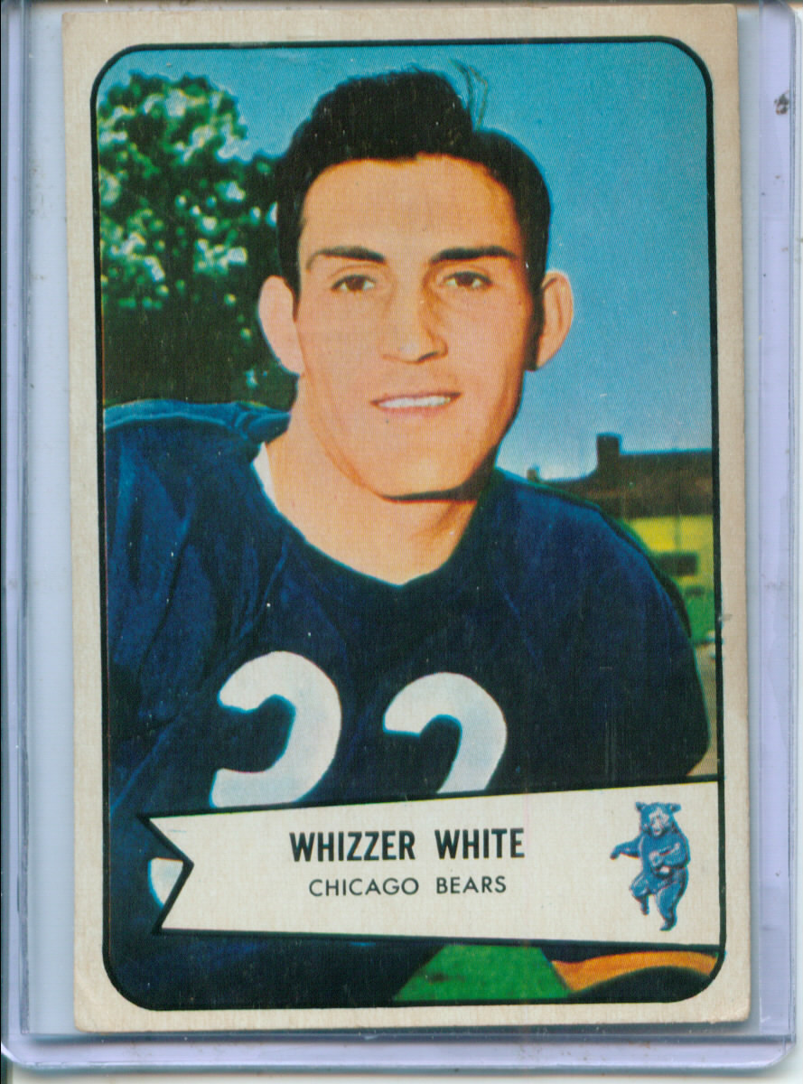 1954 Bowman #125 Wilford White RC