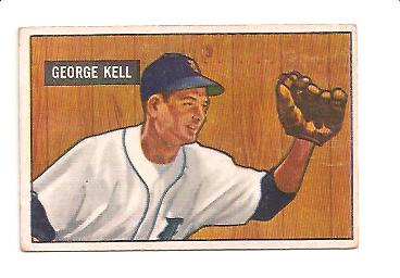 1951 Bowman #46 George Kell UER/Mentions 1941