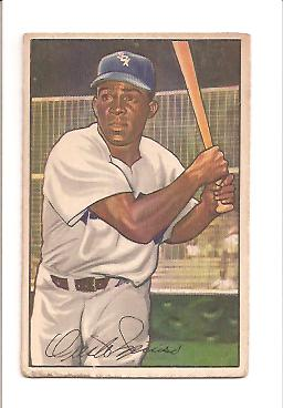 1952 Bowman #5 Minnie Minoso RC front image