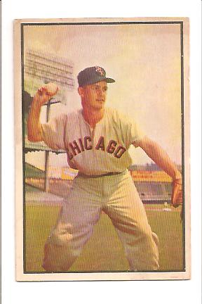 1953 Bowman Color #18 Nellie Fox