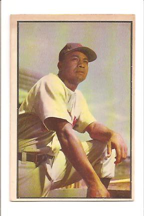 1953 Bowman Color #40 Larry Doby