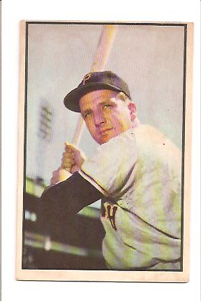 1953 Bowman Color #80 Ralph Kiner