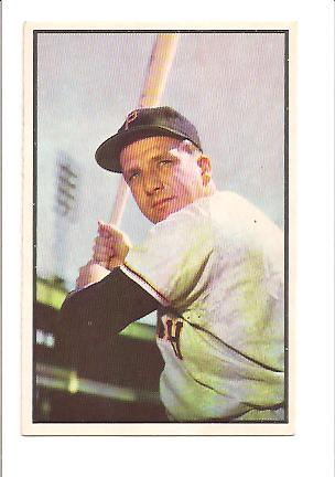 1953 Bowman Color #80 Ralph Kiner EXMT Actual scan front image