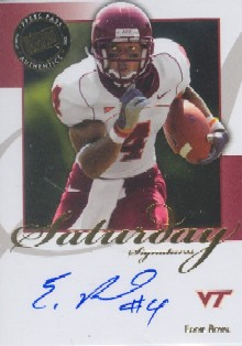 2008 Press Pass Legends Saturday Signatures #SSER Eddie Royal