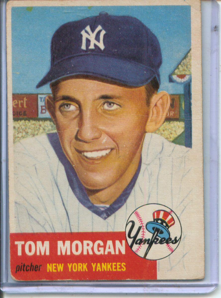 1953 Topps #132 Tom Morgan