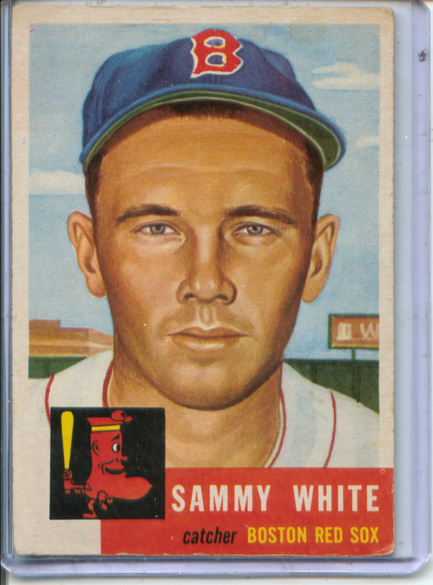 1953 Topps #139 Sammy White