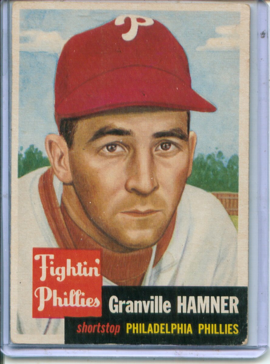 1953 Topps #146 Granny Hamner
