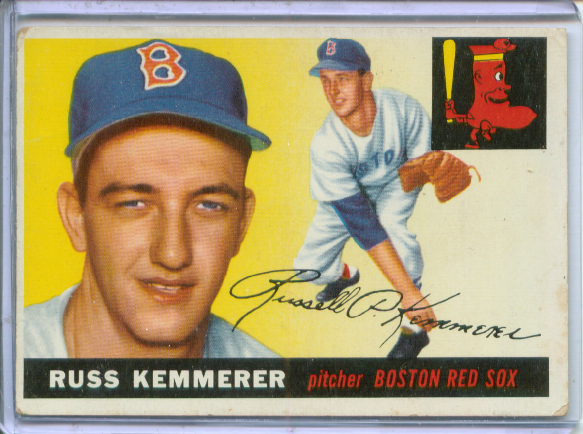 1955 Topps #18 Russ Kemmerer RC
