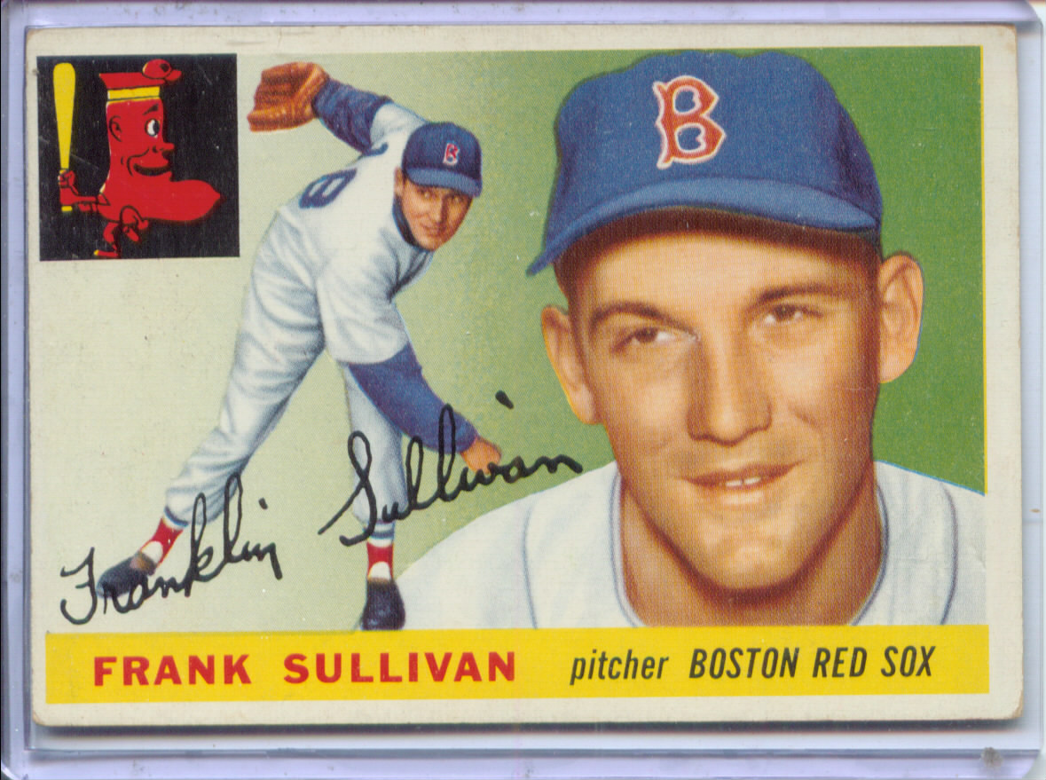 1955 Topps #106 Frank Sullivan RC