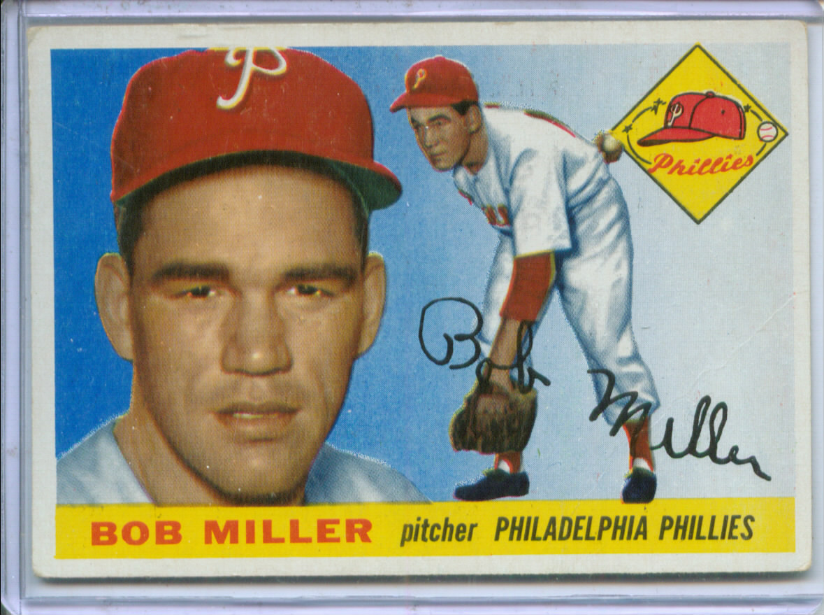 1955 Topps #157 Robert Miller