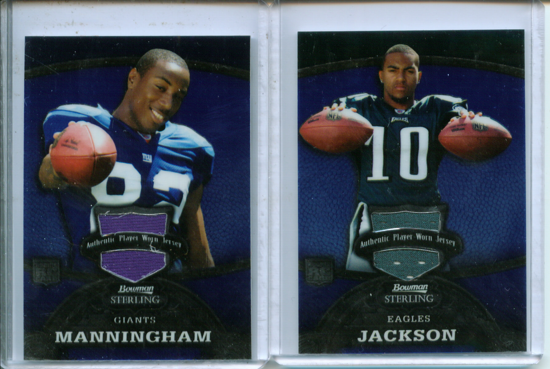 2008 Bowman Sterling Jerseys Blue #169 DeSean Jackson