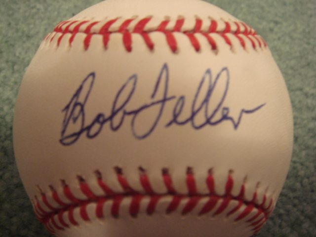 Bob Feller Autographed Official AL Baseball With COA