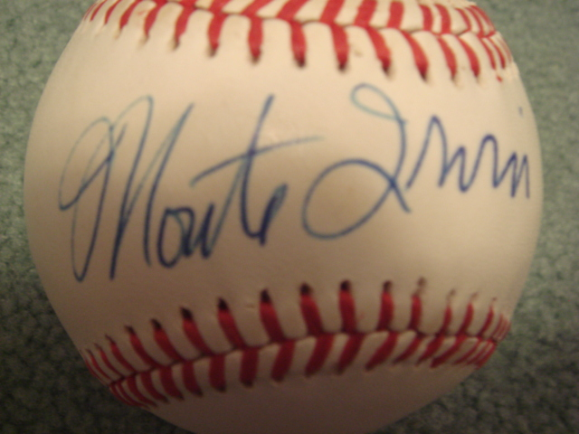 Monte Irvin Autographed Official NL Baseball With COA