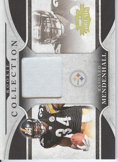 2008 Donruss Threads Rookie Collection Materials Prime #1 Rashard Mendenhall