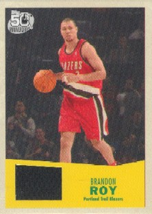 2007-08 Topps 1957-58 Variations Relics #107 Brandon Roy