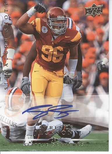 2008 Upper Deck Signature Shots #SS39 Lawrence Jackson