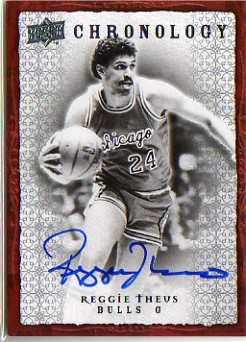 2007-08 Chronology Autographs #97 Reggie Theus