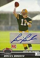 2008 Stadium Club Rookie Autographs #102 Brian Brohm A