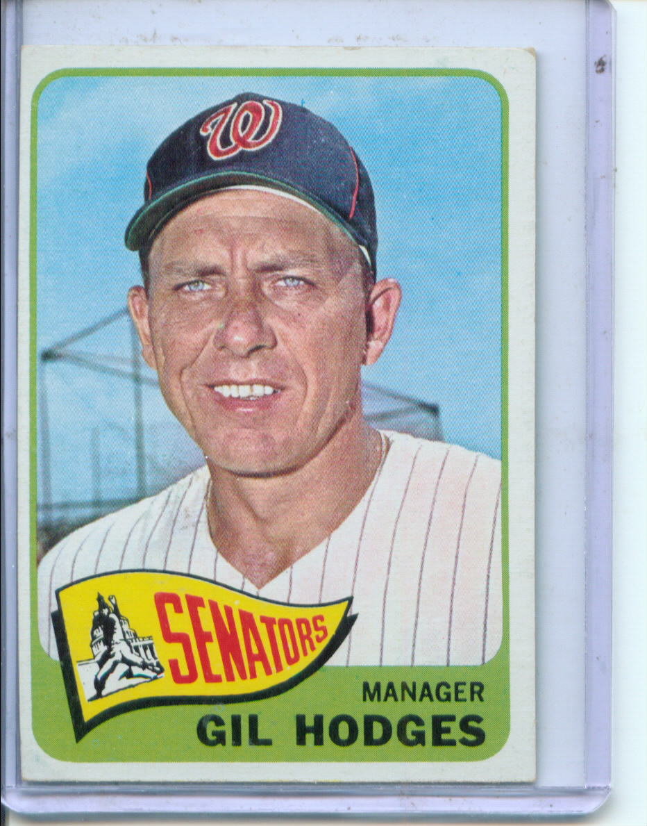 1965 Topps #99 Gil Hodges MG