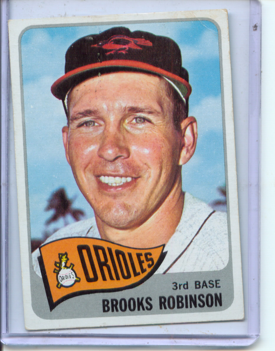1965 Topps #150 Brooks Robinson