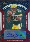 2007 Finest Moments Autographs #BJ Brandon Jackson D