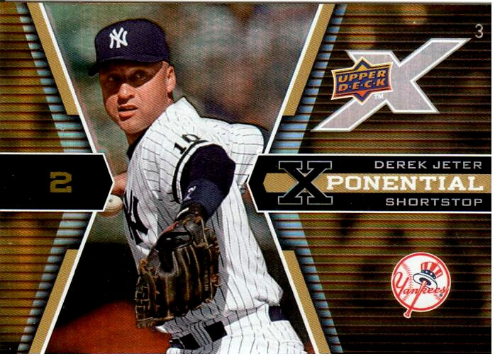 2008 Upper Deck X Sample #DJ Derek Jeter