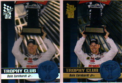 2008 VIP Trophy Club Transparent #TC6 Dale Earnhardt Jr.