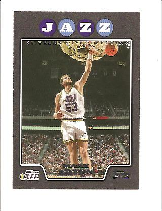 2008-09 Topps Black #189 Mark Eaton