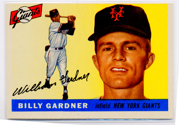 1955 Topps #27 Billy Gardner RC