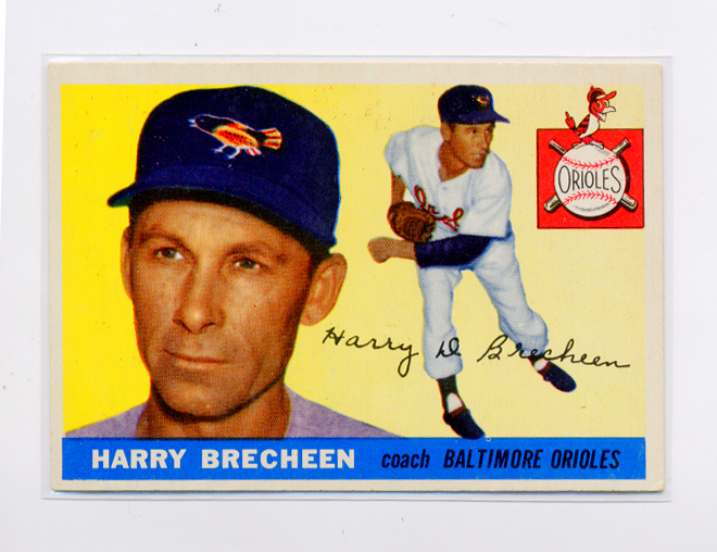 1955 Topps #113 Harry Brecheen CO