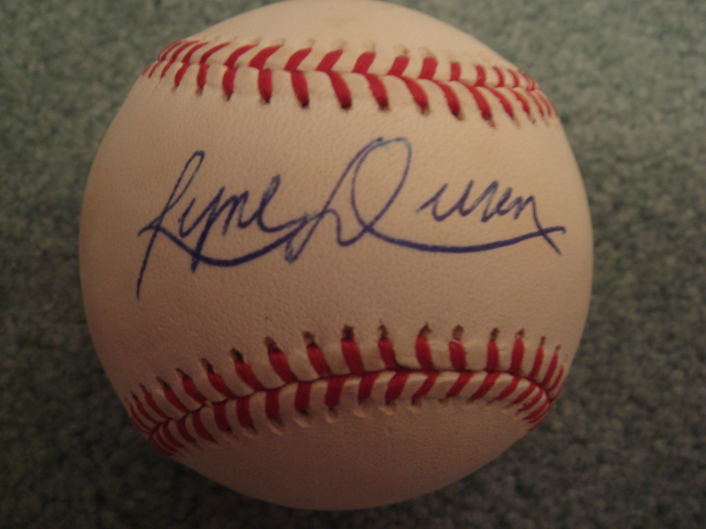 Ryne Duren Autographed Official AL Baseball With COA