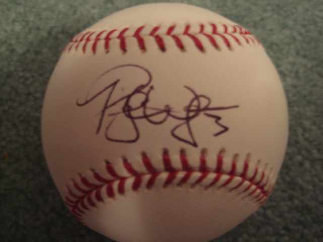 Preston Wilson Autographed Official MLB Baseball With COA