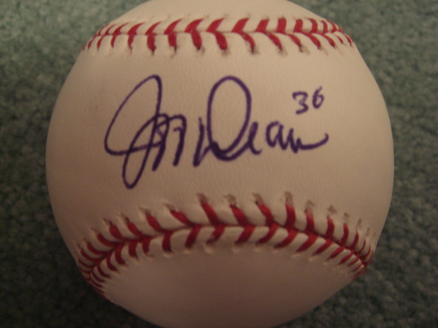 Jeff Weaver Autographed Official MLB Baseball With COA