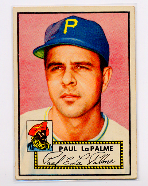 1952 Topps #166 Paul LaPalme RC