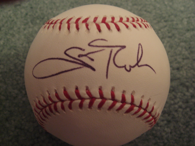 Scott Rolen Autographed Official MLB Baseball With COA