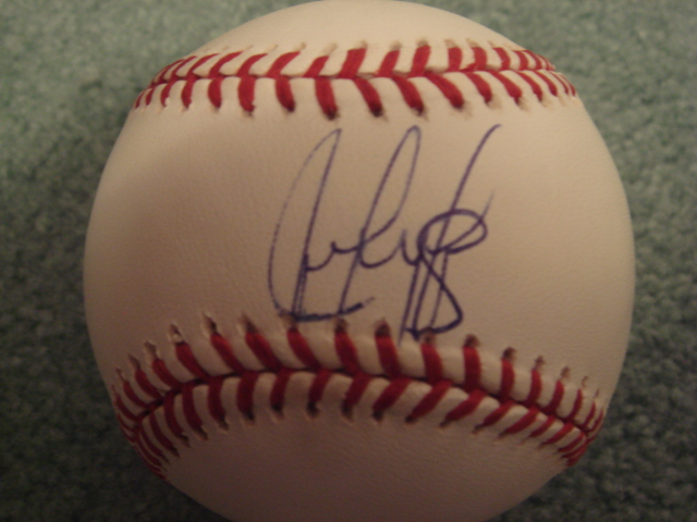 Juan Gonzalez Autographed Official MLB Baseball With COA