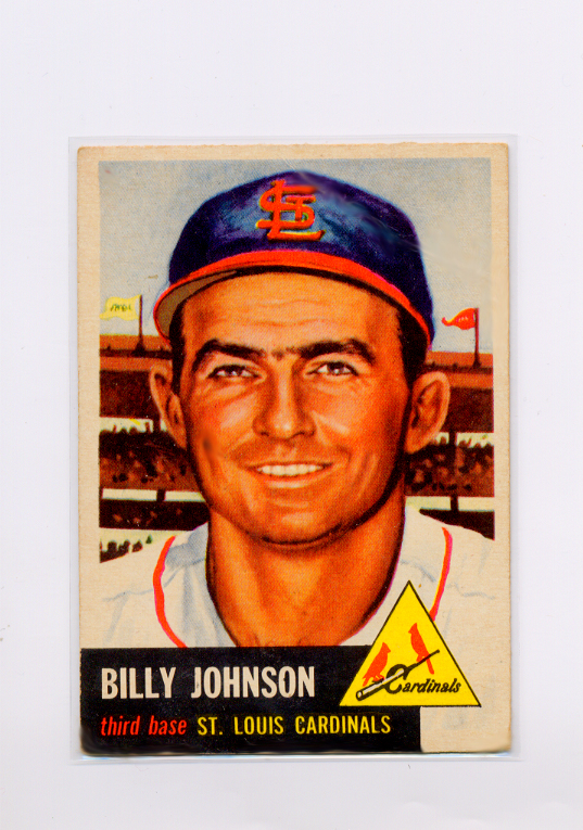 1953 Topps #21 Billy Johnson