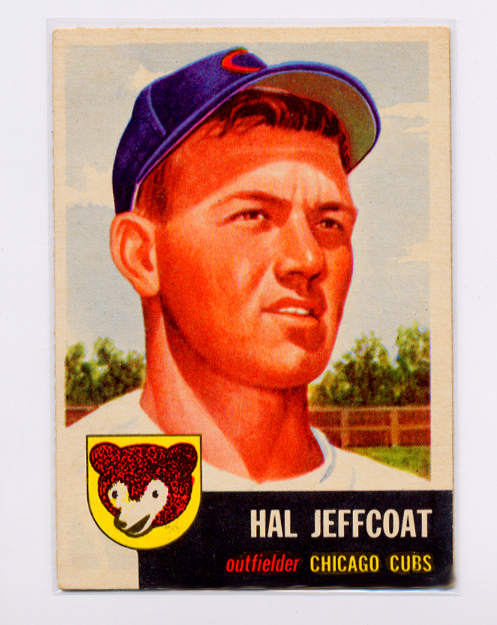 1953 Topps #29 Hal Jeffcoat