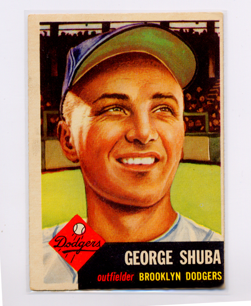 1953 Topps #34 George Shuba