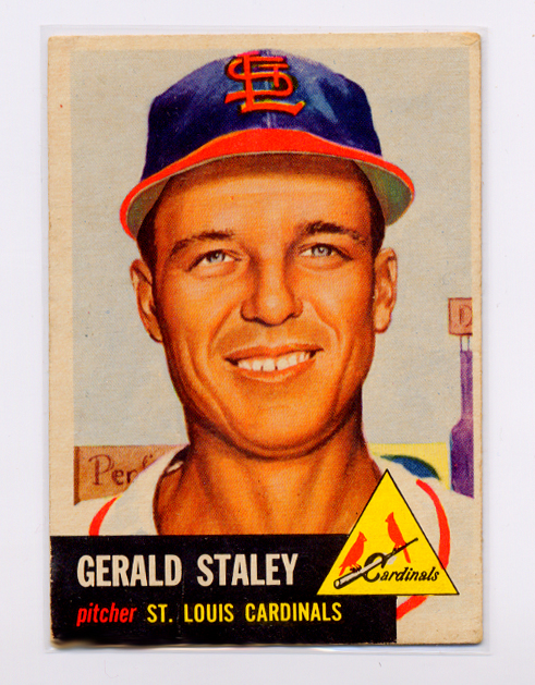 1953 Topps #56 Gerry Staley DP