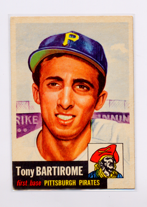 1953 Topps #71 Tony Bartirome
