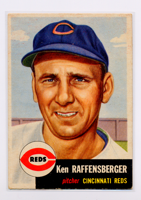 1953 Topps #276 Ken Raffensberger