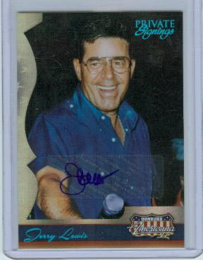 2008 Americana II Private Signings #105 Jerry Lewis/19