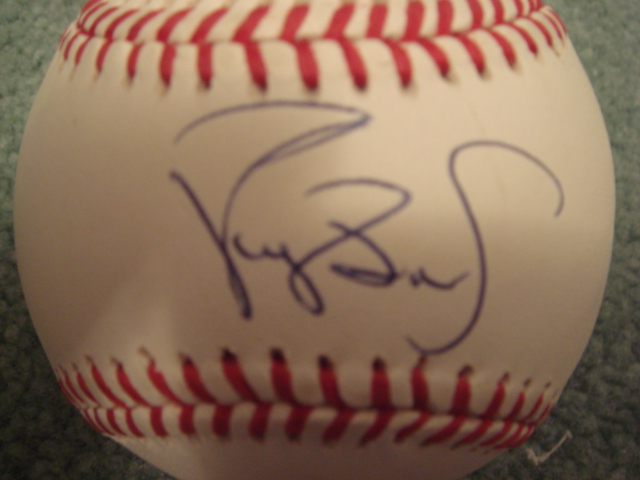 Darryl Strawberry Autographed Official N.L. Baseball With COA