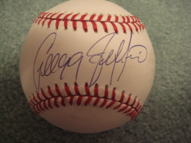 Gregg Jeffries Autographed Official N.L. Baseball With COA