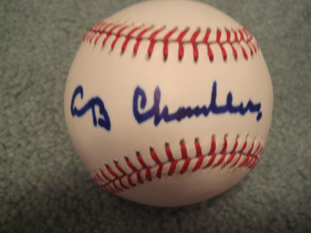 A. B. Happy Chandler Autographed Official N.L. Baseball With PSA COA